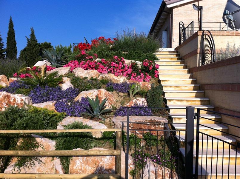 progettazione giardini jesi