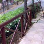 staccionata giardino